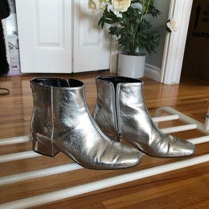 Sam edelman metallic ankle bootie
